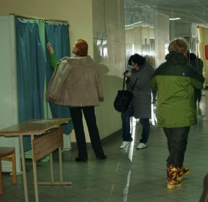 Antrame išankstinio balsavimo ture  Palangoje rinkėjų aktyvumas nesumažėjo