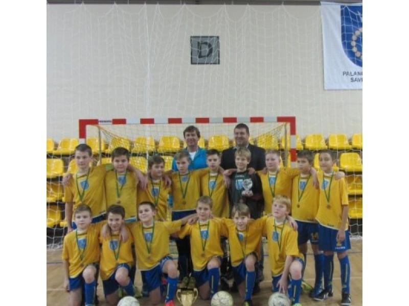 Palangos sporto centro 2002/2003 metais gimusių berniukų futbolo komanda. Palangos SC nuotr.