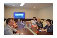 Palangoje lankėsi Prancūzijos ambasadorė Lietuvoje Claire Lignières-Counathe