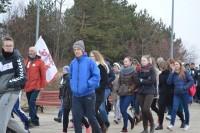Gintaro kelią nuo Palangos iki Šventosios įveikė per 200 entuziastų