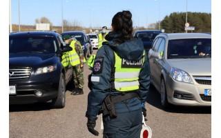 Palangoje gruodžio 23 d. patikrinta 4250 automobilių, neįleista 97, surašyti 22 protokolai už KET pažeidimus