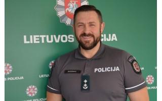 """Palangos PK viršininkas Algirdas Budginas: """"Nusikaltimų Palangoje mažėja"""""""