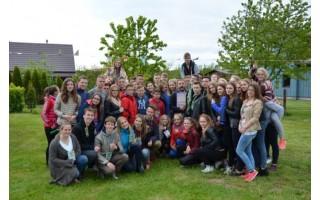 Moksleiviai įkvėpimo sėmėsi stovykloje Šventojoje