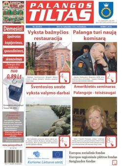Palangos tilto laikraštis, Data: 2011-04-12, Numeris: 28 (972)