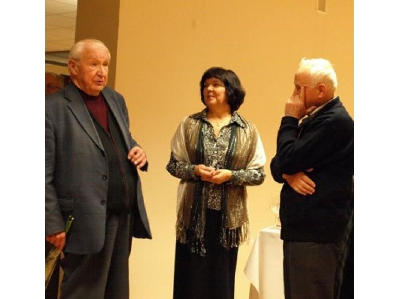 Žymaus lietuvių architekto L.Mardoso (kairėje) pavardę išgirdau dar 1978 metais.