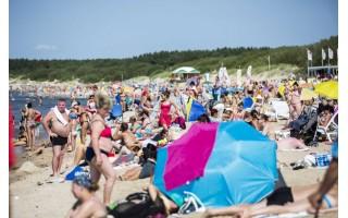 Žada neleisti į paplūdimius be asmens apsaugos priemonių