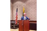 Antanas Vinkus Čikagoje dalyvavo JAV Lietuvių bendruomenės suvažiavime