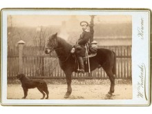 Kariškių medžioklės komandos vedėjas. 1890 m.