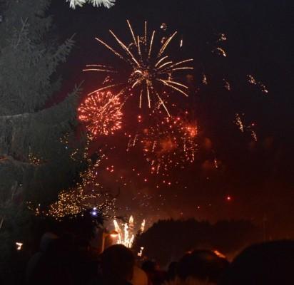 Naujųjų metų naktį Palangoje vilnijo žmonių jūra