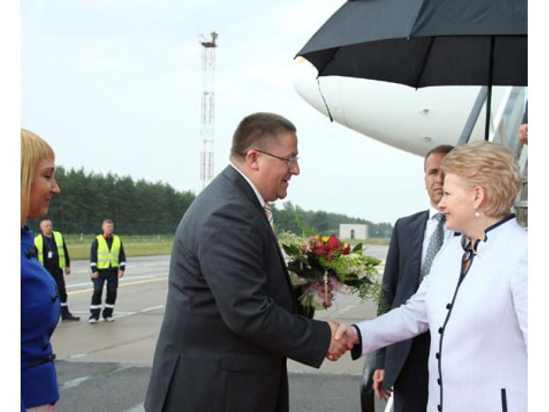 """Prie nacionalinės kampanijos """"Už saugią Lietuvą"""" prisijungė ir Palangos savivaldybė"""
