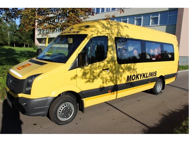 Palanga Mokslo metams gaus vieną naują mokyklinį autobusą