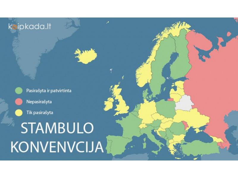 Prezidento kanceliarijos užsakymu apklausa dėl Stambulo konvencijos įvyko 31 mieste ir 35 kaimuose, taip pat Palangoje