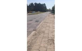Netrukus prasidės Bangų gatvės šaligatvio ir gatvės rekonstrukcija