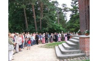 Palangoje taip pat aidėjo Lietuvos himnas