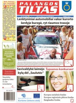 Palangos tilto laikraštis, Data: 2011-07-21, Numeris: 56 (1000)