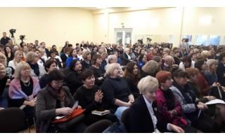 Vakarų Lietuvos švietimo srities specialistai Palangoje dalijosi patirtimi
