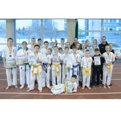 """Vilniuje savaitgalį vyko atviras Vilniaus """"Vichy"""" karate kyokushin čempionatas."""
