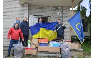 Kijevą pasieks ir labdara 143 dėžėse iš Palangos