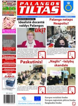 Palangos tilto laikraštis, Data: 2011-04-08, Numeris: 27 (971)