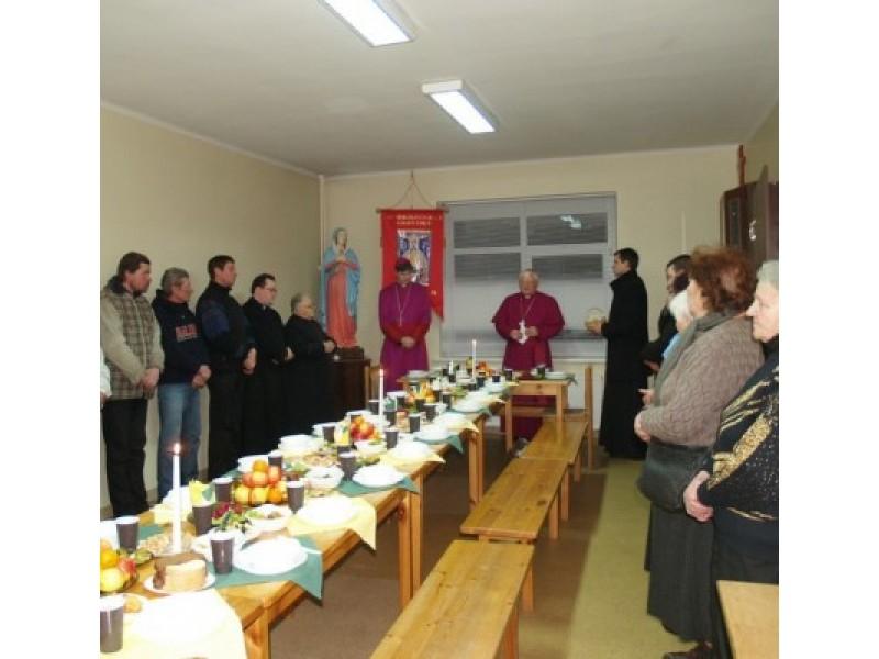 Kūčios – drauge su vyskupais
