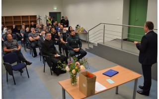 Angelų sargų dienos proga – miesto vadovų sveikinimai policijos pareigūnams
