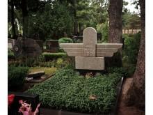 Bronius Oškinis palaidotas Palangos kapinėse.