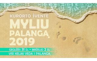 Palanga kviečia į Kurorto šventę gegužės 31 d. – birželio 2 d.