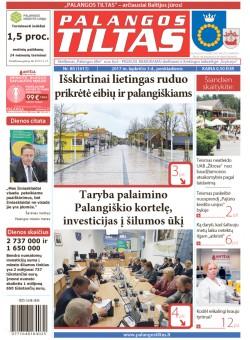 Palangos tilto laikraštis, Data: 2017-11-02, Numeris: 80(1611)