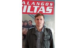 """Žygimantas Šeštokas, """"Palangos kuršiai"""" direktorius: """"Komanda pradeda NKL sezoną gerai nusiteikusi"""""""