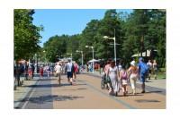 Palangos J. Basanavičiaus gatvėje vasarą bus draudžiamas elektrinių paspirtukų, dviračių bei velomobilių eismas