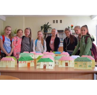 """""""Baltijos"""" penktokai dalyvavo pilietinėje iniciatyvoje """"Palikti namai..."""""""