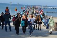 Baltų vienybės diena sugrąžino vasarą: tiestas tiltas tarp dviejų tautų