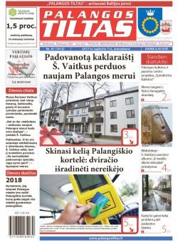 Palangos tilto laikraštis, Data: 2017-11-06, Numeris: 81(1612)