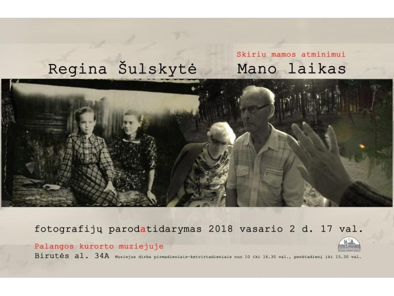 """Palangos kurorto muziejuje – fotografijos paroda""""Mano laikas"""""""