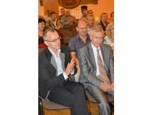 Rimantas Gliožeris (kairėje) ir Arvydas Dočkus.