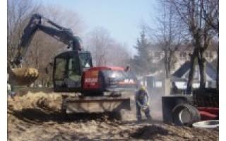 Palangos Jūratės gatvėje – intensyvūs rekonstrukcijos darbai