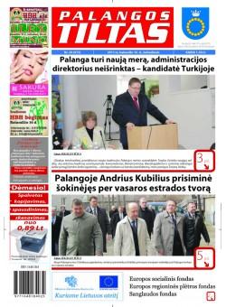 Palangos tilto laikraštis, Data: 2011-04-15, Numeris: 29 (973)