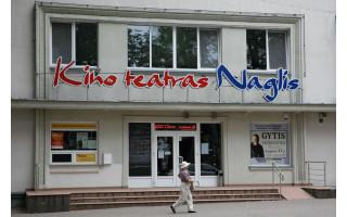 """Kino teatras """"Naglis"""" virs regionine filmoteka: architektūrinio konkurso dalyvių projektų pristatymas Palangos viešojoje bibliotekoje"""