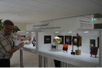 Savivaldybės trečiojo aukšto fojė – menininko V. Kuso miniatiūrų paroda