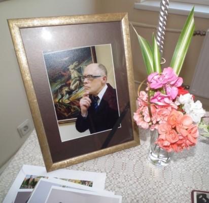 Pagerbtas šviesios atminties dailininkas Jonas Vaišė