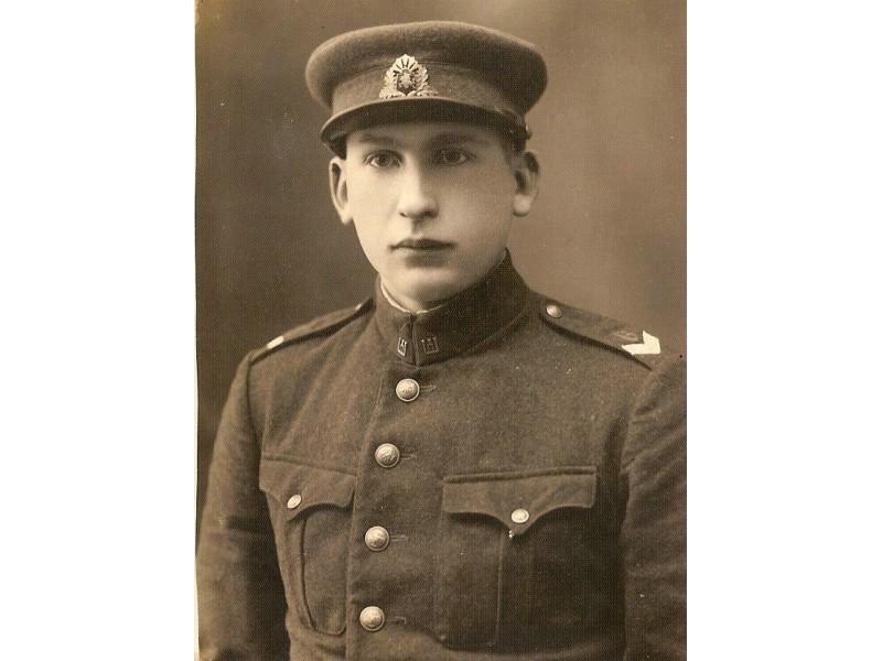 Palangiškis Jonas Piktuižis – Lietuvos kariuomenės kūrėjas savanoris