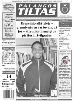 Palangos tilto laikraštis, Data: 2013-12-02, Numeris: 91 (1132)