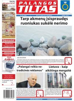 Palangos tilto laikraštis, Data: 2011-10-25, Numeris: 82 (1026)