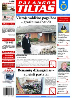 Palangos tilto laikraštis, Data: 2012-02-27, Numeris: 16 (1059)