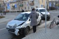 Žvejų gatvės sankryžoje-vėl avarija