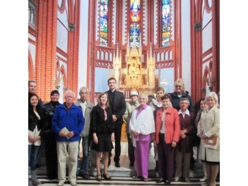 Palangos Švč. Mergelės Marijos Ėmimo į dangų bažnyčioje ieškota vietos dvasios