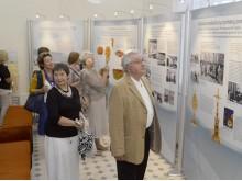 """Paroda """"Palangos gintaro muziejui – 50"""" sulaukė didelio svečių susidomėjimo.  / Ado Sendrausko nuotr."""