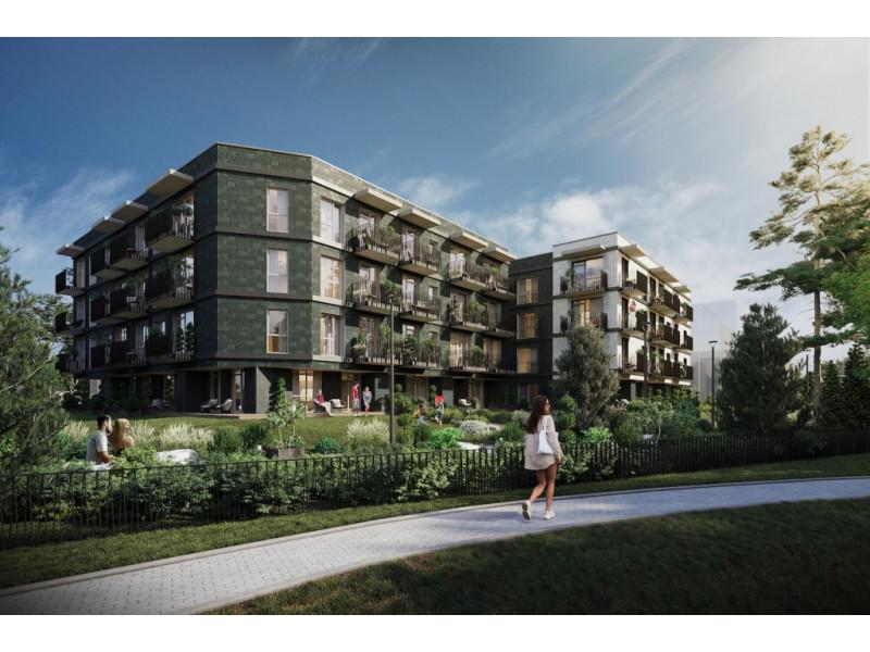 """Palangoje, Vanagupės g. 22B, pradėtos naujų apartamentų """"Santjago"""" statybos"""