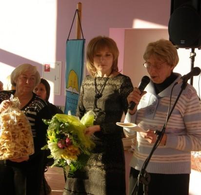 A. Pečiukonio nuotraukoje – palangiškiai TAU šventėje: (iš kairės) V. Želvienė, V. Varpiotienė, L. Umbrasienė ir T. Moleckienė.