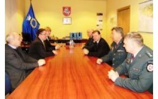 Miesto vadovams pristatytas būsimasis Klaipėdos apskrities PK viršininkas A. Motuzas